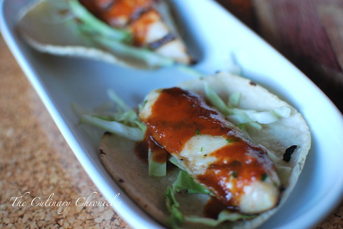 Sea Rocket Bistro: Grilled Halibut Street Tacos