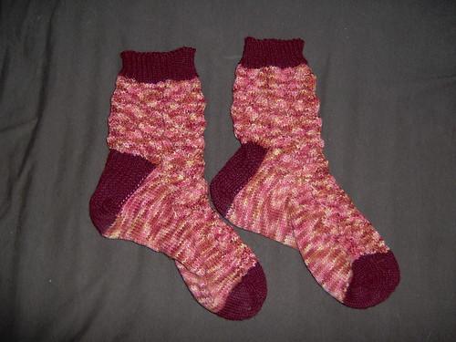 Fawkes Socks (Toe-up)