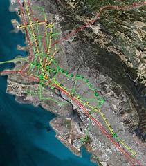 East Bay Future BRT Network