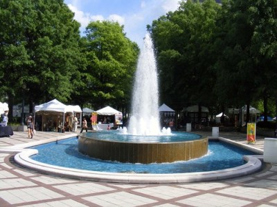 The fountain in Linn Park. acnatta/Flickr