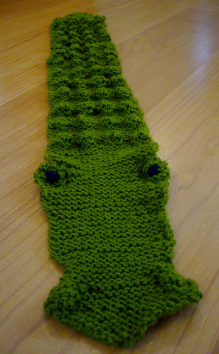Crocodile Scarf