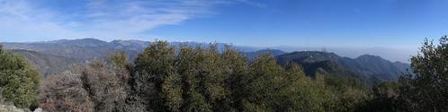 San Gabriel Peak Pano