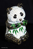 "5"" Cloisonne panda purchased in Chengdu China 2008"