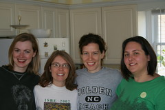 Heather, Tria, Diana & Shannon: We've been friends for almost 20 years; I've known Shannon since pre-school!