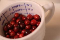 Cranberries, mmmm...