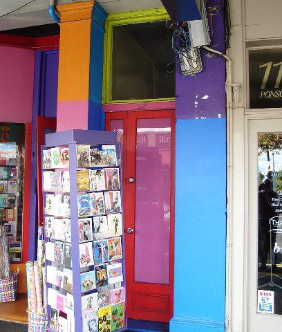 Front door of 119 Ponsonby Road