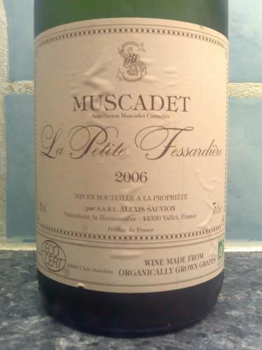 La Petite Fessardière Muscadet 2006