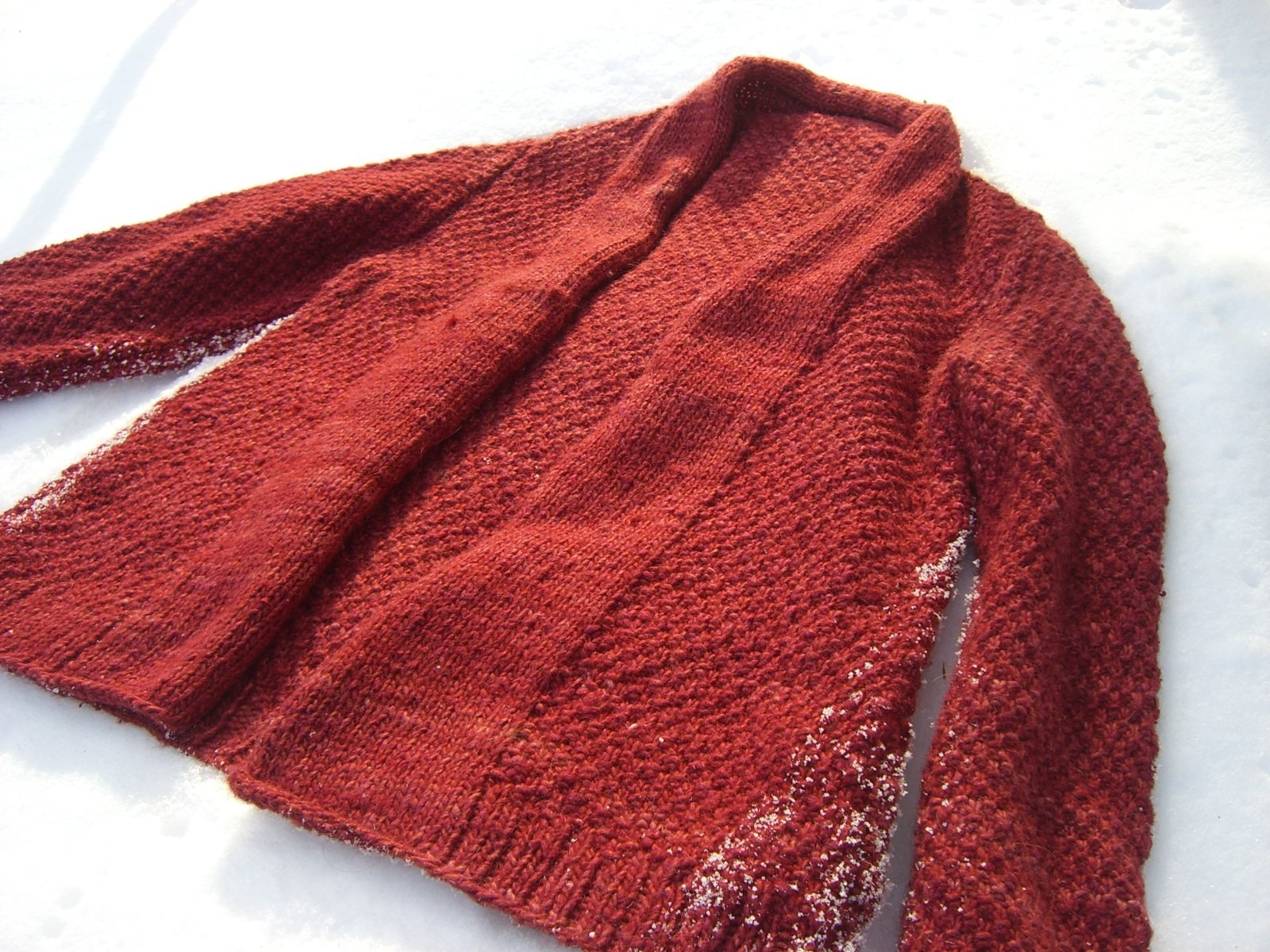 Blood Orange Cardigan