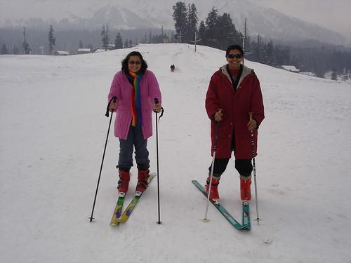 Skiing !!