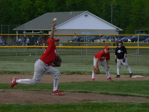 Marrero pitching, Schmidt at 1st