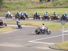 Training motorcycle