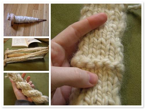 first knittable handspun, start to finish.