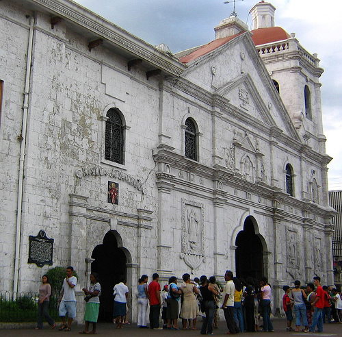 Cebu's historical Basilica Minore del Sto. Niño