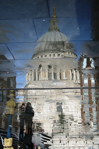 Reflection of St Pauls