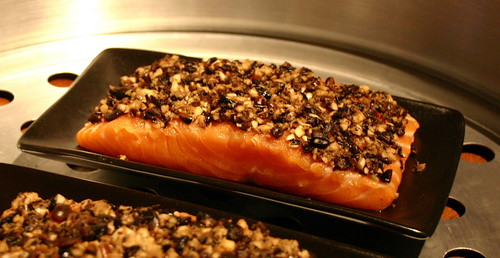 Steamed Salmon with Fermented Black Beans