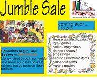 Bookworm jumble sale