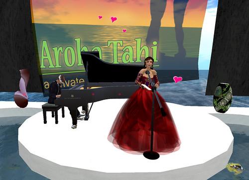 Heath and Diana at Aroha Tahi