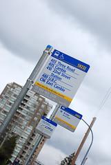 Vancouver (Richmond) bus stop