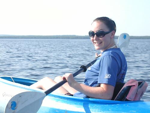 Kayaking at Square Lake
