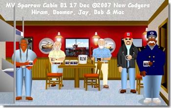 MV Sparrow Cabin B1 17 Dec ©2007 New Codgers