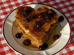 Heartshaped pancakes