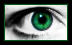 green eyed girl..
