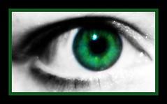 green eyed girl..