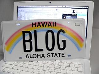 Blog Hawaii license plate