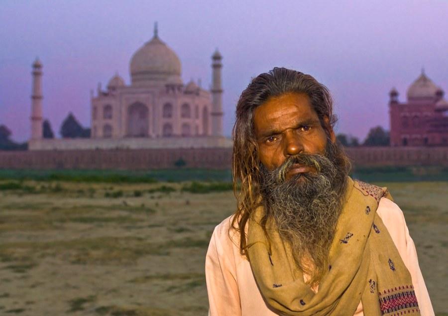 Alone at the Taj