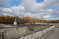 Clouds above Chenonceau