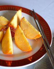 Pichet Ong's Frozen Orange Wedges