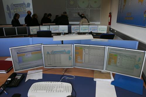 CERN's control room