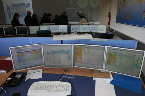 CERN's control room