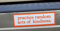 practice random acts of kindness.