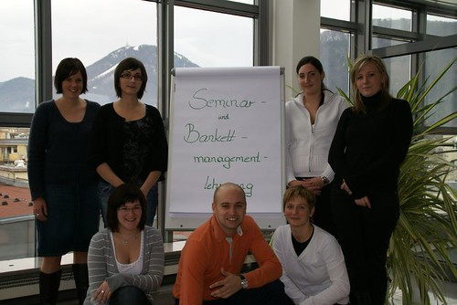 Absolventen Bankett- und Seminarmanager
