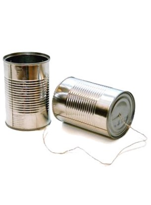 tin can phone by K!T.
