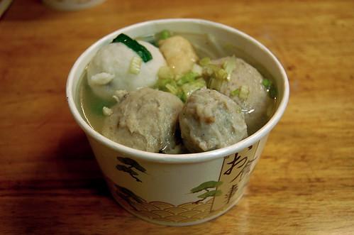 Five-Flavors Fish Ball Soup