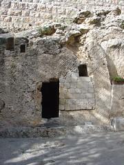 Possible site of Jesus Tomb- Garden Tomb East ...