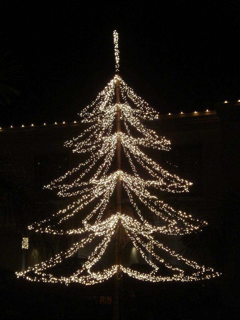 Christmas Tree at Galle Face Hotel
