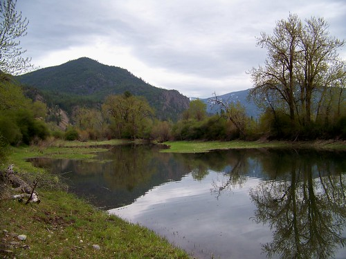 Along the Clark Fork river