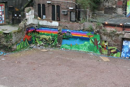 Colorful Murals in Edinburgh