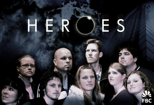 Final Heroes parody poster
