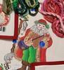 needlepoint santa