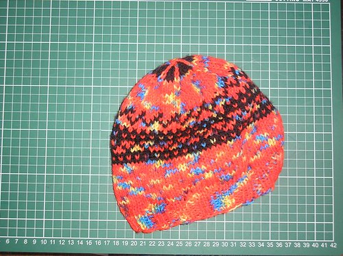 Second fair isle cap