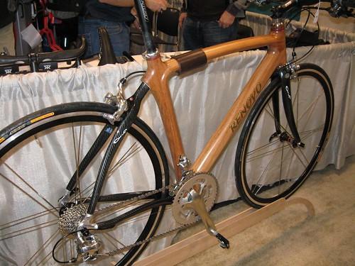 Renovo monocoque wooden bike