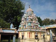 Vimanam of the Agastheeswarar Shrine