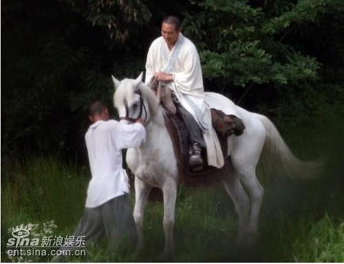 Jet Li as Silent Monk