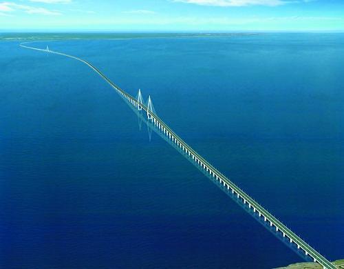 Hangzhou Bay Bridge, Zhejiang