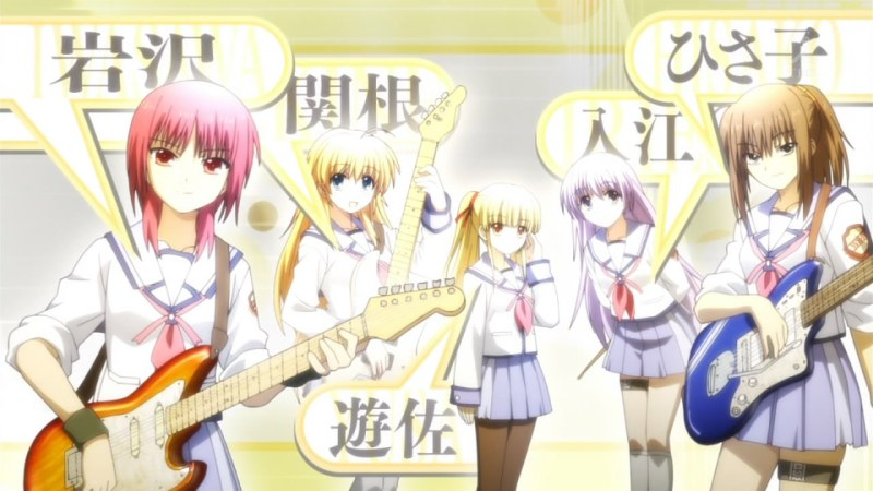 Angel Beats! OP ED - 07