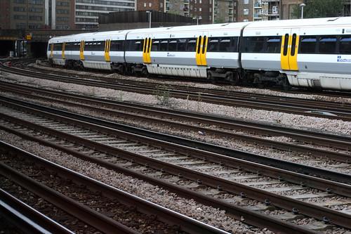 Train Tracks outside of London